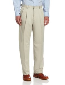 31J2rnNk46L 231x300 - Haggar Men's Cool 18 Hidden Expandable-Waist Pleat-Front Pant